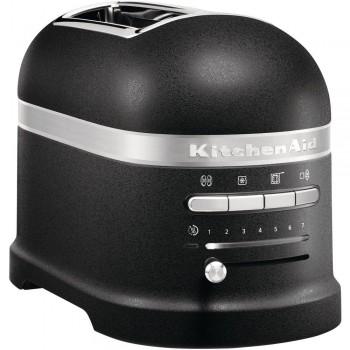 KitchenAid Artisan Toaster für 2 Scheiben Gusseisen Schwarz 5KMT2204EBK