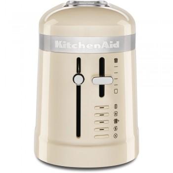 KitchenAid 1-Scheibe Langschlitz-Toaster crème 5KMT3115EAC