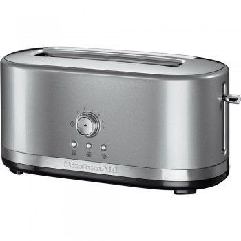 KitchenAid Toaster mit langen Schlitzen Contur-Silber 5KMT4116ECU