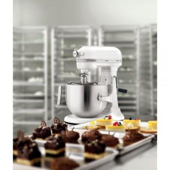 KitchenAid Heavy Duty Küchenmaschine mit Schüsselheber Weiß 5KSM7591XEWH
