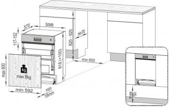 Beko Geschirrspüler Integrierbar DSN28431X