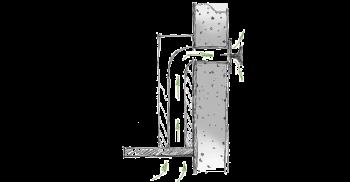 Berbel Inselhaube Ergoline BIH110EG Silber Metallic 110 cm 1020000 5 Jahre Garantie