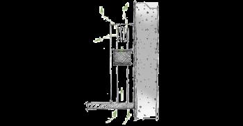 Berbel Deckenlifthaube Skyline Edge BDL 135 SKE weiss 135 cm 1050043 5 Jahre Garantie