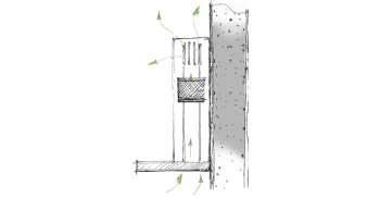 Berbel Deckenlifthaube Skyline BDL 95 SKE-L schwarz 95 cm 1050140 5 Jahre Garantie