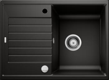 BLANCO Silgranitspüle ZIA 45 S Compact schwarz 526008
