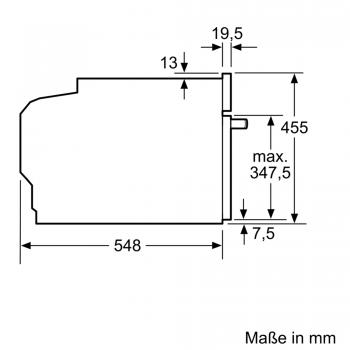 Bosch Kompakt-Dampfgarer Edelstahl CDG634AS0