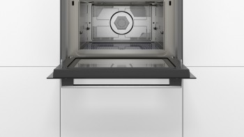Bosch Einbau-Mikrowelle 60 x 45 cm Edelstahl CMA585GS0