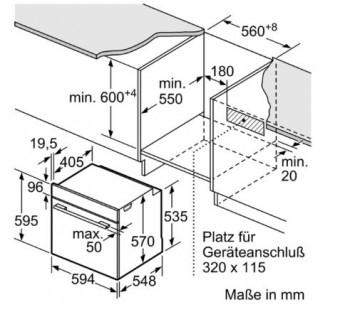 Bosch Herd-Set HBD672LS80  best. PKC845FP1D + HBA5784S0