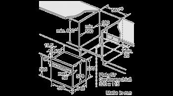 Bosch Backofen-Set HBD672LS81 best. aus: PKC845FP1D + HBA578BS0