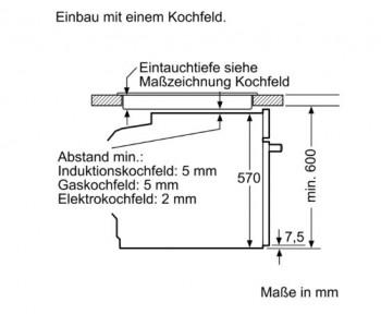 Bosch Herdset HND411LS61 best aus: HEA513BS2 + NKN645GA1E