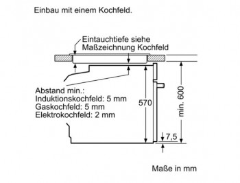 Bosch Herdset HND411LW61 best aus: HEA513BW2 + NKN645GA1E