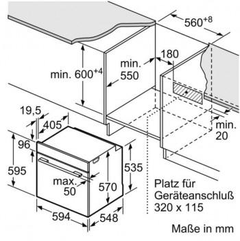 Bosch Herd-Set HND615LS65 best. aus NIF645CB1E + HEB517BS1