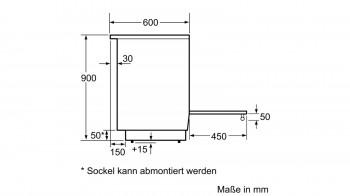 B-Ware Bosch Elektro-Standherd 60cm HLS59D320