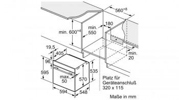 Bosch Einbau-Herd-Set MKH65FP0