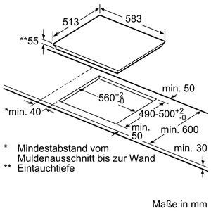 Bosch Herdset HND619LS60 best. aus: HEA5174S1 + NXX645CB1E