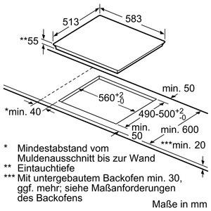 Bosch Herdset HBD635CS60 best. aus: HBA537BS0 + PIF645BB1E