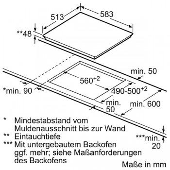 Bosch Herd-Set HBD611LS60  best. PKN645FP1E + HBA517BS0