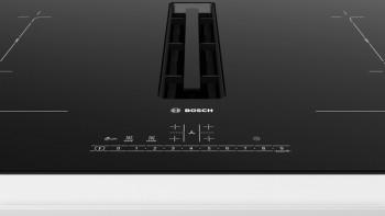 B-Ware Bosch Induktions-Kochfeld mit integriertem Abzugsmodul PVQ811G70 best. aus: PVQ811F15E + HEZ9VRPD0