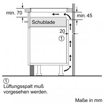 Bosch Induktionskochfeld 60 cm Schwarz PVS601FB5E