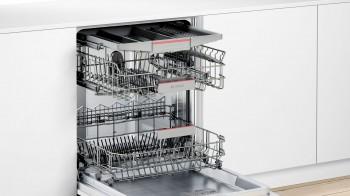 Bosch Geschirrspüler teilintegriert Edelstahl SMI46NS03E