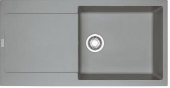 Franke Spüle Fragranit reversibel Steingrau MRG 611-100XL 1140378124