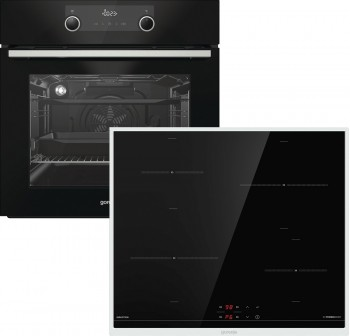 Gorenje Backofen Set Black Set BPS: BPS737E20BG + IT640BX