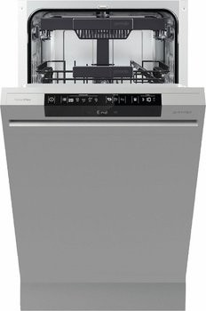 gorenje geschirrsp ler integrierbar kompakt 45 cm gi55110s. Black Bedroom Furniture Sets. Home Design Ideas