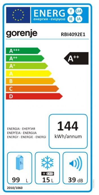 Gorenje Einbau Kühlschrank RBI 4092 E1