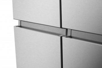 Hisense Side by Side Kühlschrank Premium Inox Look RQ760N4AIF