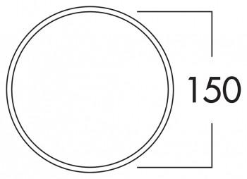 E-Jal 150 Mauerkasten inkl. THERMOBOX, Mauerkasten, weiß, Edelstahl 4043065