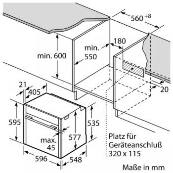Neff Set: Backofen B45FS26N0K + Z13TF36X0