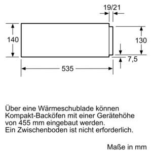 Neff Wärmeschublade Edelstahl N17HH10N0