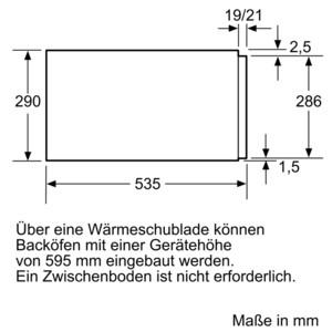 Neff Wärmeschublade Edelstahl N17HH20N0