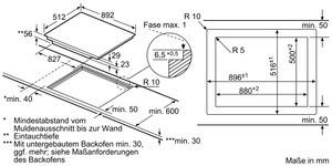 neff elektro kochfeld 90cm tpt 5960 x t59pt60x0 psi24
