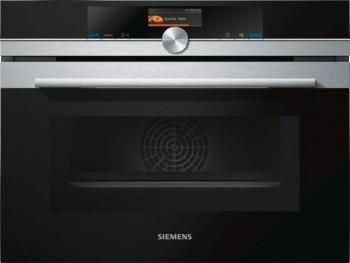 Siemens Kompaktdampfbackofen mit Mikrowelle CM636GNS1