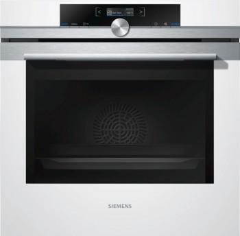 Siemens Einbaubackofen Weiß HB634GBW1