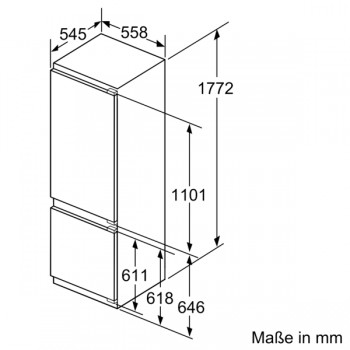 Siemens Kühl-Gefrier-Kombination iQ 500  KI87SADE0