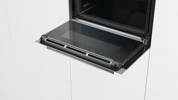 Siemens Kompaktdampfbackofen iQ700 Edelstahl CS658GRS7