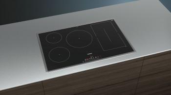 Siemens Induktions-Kochfeld iQ500 Flachrahmen-Design Glaskeramik ED845FWB5E