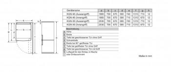 Siemens Extraklasse Kühl-/Gefrier-Kombination Edelstahl KG49NEIDP