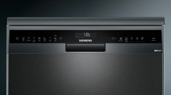 Siemens Geschirrspüler speedMatic Schwarz iQ500 SN258B00NE