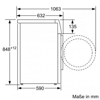 Siemens Waschmaschine 9 kg iQ700 WM14VM43