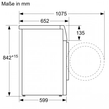 Siemens Wärmepumpen Trockner 7kg WT43HV00