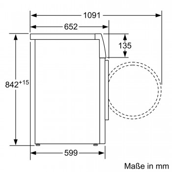 Siemens Wärmepumpen-Trockner 8 kg iQ500 WT44W4A3