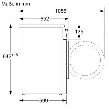 Siemens Extraklasse Wärmepumpen-Trockner iQ500 WT47R490
