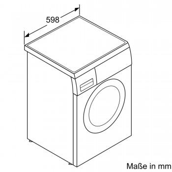 Siemens Waschmaschine silber-inox iQ500 WU14Q4S1