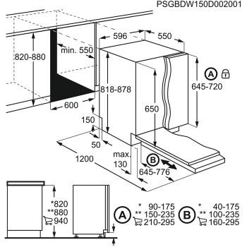 Zanussi Geschirrspüler vollintegrierbar ZDT22003FA