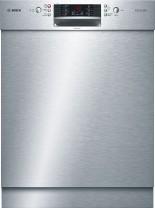 Bosch EXCLUSIV Geschirrspüler SuperSilence Unterbau Edelstahl  SMU46JS05D