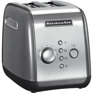 KitchenAid Artisan Toaster für 2 Scheiben Contur-Silber 5KMT221ECU