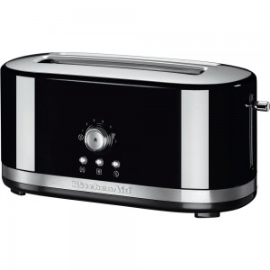 KitchenAid Toaster mit langen Schlitzen Onyx Schwarz 5KMT4116EOB